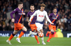 How did you rate the performances in Spurs' Champions League win over Manchester City?