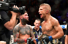 Former UFC champion TJ Dillashaw suspended for two years after testing positive for EPO