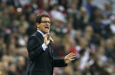 No, grazie: Capello rules himself out of the running for the Chelsea job