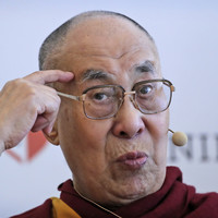 The Dalai Lama has been hospitalised in India