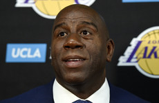 Magic Johnson stuns basketball world with decision to step down as LA Lakers president