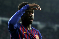 Boost for Barca as Dembele is passed fit for Old Trafford trip