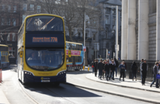 More people are travelling into Dublin city by public transport, but there are fewer cyclists