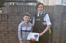 Boy who saved woman from being pulled into strangers' van honoured by PSNI