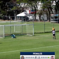 'Increíble' - Young Mexican footballer scores one of the luckiest penalties we've seen