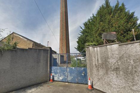 Outside the former Magdalene Laundry site