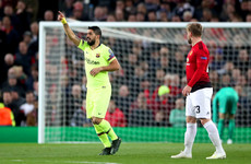 Barcelona edge Man United to gain first-leg advantage