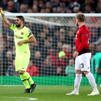 Barcelona edge Man United to gain first-leg advantage