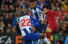 Salah could have broken Danilo's leg - Porto president