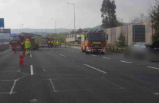 'Rubberneckers are causing delays': Crash on M50 northbound causes brief closure