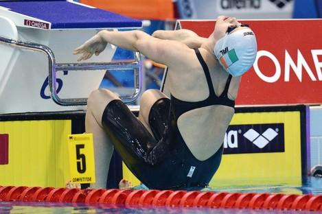 Melanie Nocher broke the Irish Senior 200m Backstroke record on Monday.