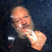 British court finds Julian Assange guilty of skipping bail as US says he faces five years on hacking charges