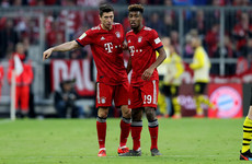 Bayern stars Lewandowski and Coman involved in fist-fight at training session - report