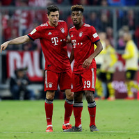 Bayern stars Lewandowski and Coman involved in fist-fight at training session - report