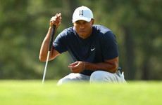 Woods in contention after electric start while mixed opening round frustrates McIlroy