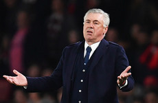 Ancelotti 'totally confident' Napoli can come back from 2-0 down against Arsenal