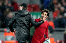 Klopp condemns 'disgusting' Salah abuse
