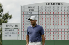 Molinari, Day and Koepka share lead, Tiger charges, and Lowry misses cut in Augusta