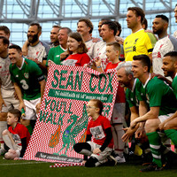 Liverpool legends beat Ireland as Seán Cox and over 26,000 fans watch on
