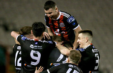 Grant's goal the difference as Bohs stay second with win at rock-bottom Finn Harps