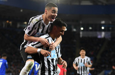 Newcastle halt Leicester's run to move 10 points clear of the drop