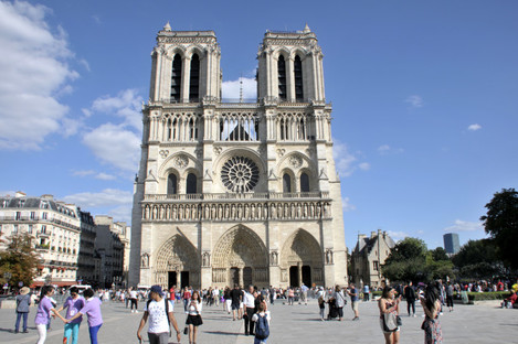 Ines Madina is one of three women allegedly involved in a foiled plot in 2016 to blow up a car packed with gas canisters near the Notre Dame cathedral in Paris