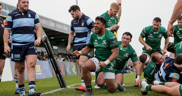Carty steers Connacht back to Champions Cup with nail-biting Cardiff win