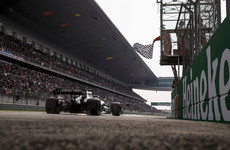 Bottas pips Hamilton for Mercedes lockout at landmark Chinese GP