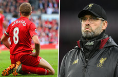 'It was a long time ago' - Klopp urges Liverpool fans to forget about Gerrard slip