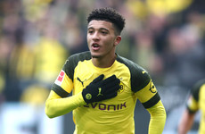 Sancho makes Bundesliga history as Borussia Dortmund reclaim top spot