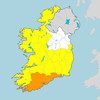 Status Orange rainfall warning for Cork and Waterford kicks in until tomorrow evening