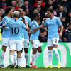 Raheem Sterling stars as Man City survive late scare to reclaim Premier League top spot
