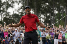 Tiger Woods rolls back the years to claim stunning Masters victory