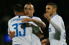 Inter hold off Frosinone comeback to strengthen Champions League bid