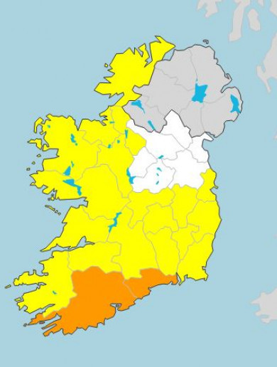 Heavy rain forecast around the country today... but Easter looks set to be warm and sunny