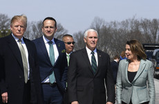 Taoiseach says he won't ask the US to choose between the UK and Ireland as he welcomes Pelosi to Dublin