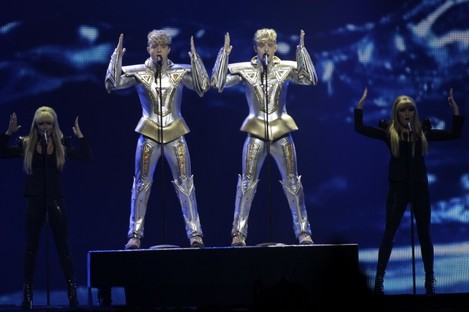 A four-hour time difference means it'll be 9:30pm in Dublin, but 1:30am in Baku, when Jedward perform.