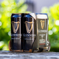 Diageo announces plans to remove plastic packaging from cans of Guinness