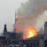 Notre Dame main structure 'saved' after blaze engulfs Paris cathedral