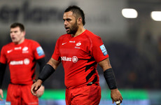 Saracens 'formally warned' Vunipola over his defence of Isreal Folau on social media