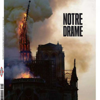 'World weeps for Notre Dame': Front pages lament damage to Paris cathedral