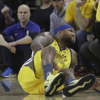 Clippers pull off largest comeback in playoff history to stun Warriors, who lose All-Star to worrying injury