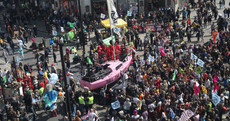 Nearly 300 arrests in London climate change protests