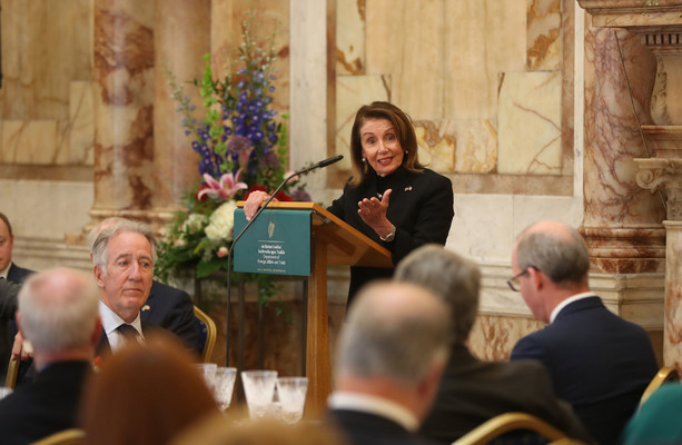 Nancy Pelosi says if the Good Friday Agreement is weakened, then a US-UK trade deal is a 'non-starter'
