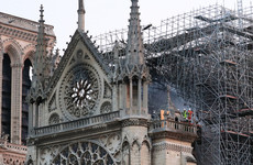 French billionaires pledge hundreds of millions of euro to help rebuild Notre Dame