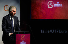 Uefa silent on John Delaney's role as he steps aside from the FAI