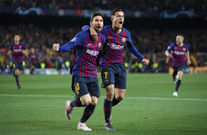 Lionel Messi-inspired Barcelona dump Man United out of Champions League