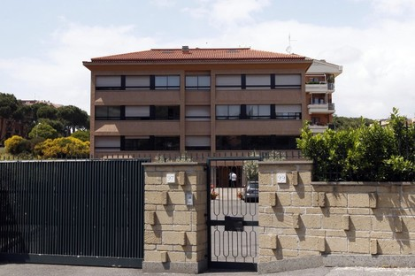 The headquarters of the beleaguered Legion of Christ order in Rome.