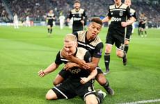 Ajax stun Cristiano Ronaldo and Juventus to reach Champions League semis