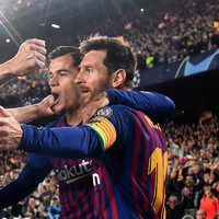 Messi hails Barcelona's 'small step towards treble'